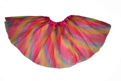 Various Colours One Size Long Girls Teenager Adult 3 Layer Tulle Tutu Skirt
