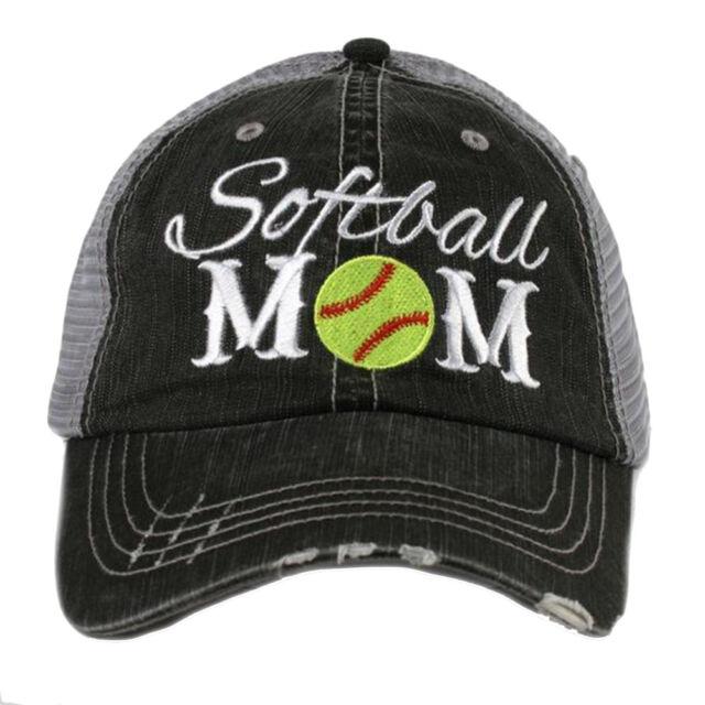 Katydid Softball Mom Women s Trucker Hat  cd37924d2e6