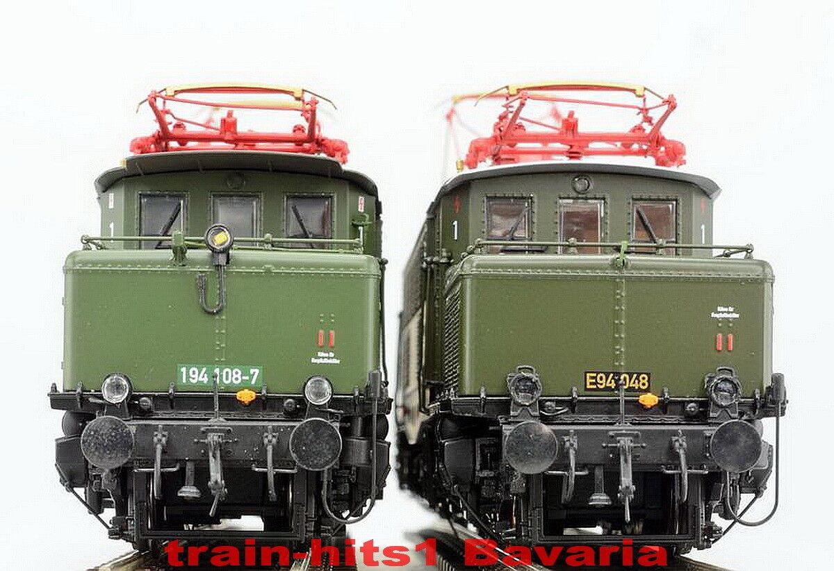 Articolo di selezione  ESU h0 E-Lok BR e 94 194 DB verde DR, DRG grigio, DC AC suono + Panto