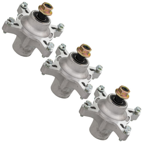 3 Pack Spindle Assembly for Exmark Deck 117-7268 117-7439 121-0751