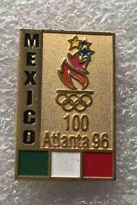 olympic pin NOC MEXICO 1996 Generic ATLANTA USA rare