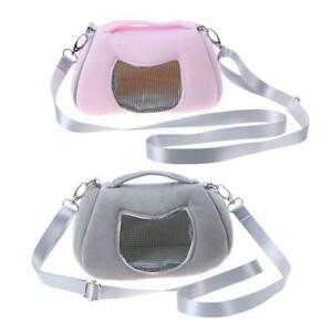 Portable-Fashion-Small-Pet-Hamster-Rabbit-Nest-Mesh-Carriers-Shoulder-Bag-JT1