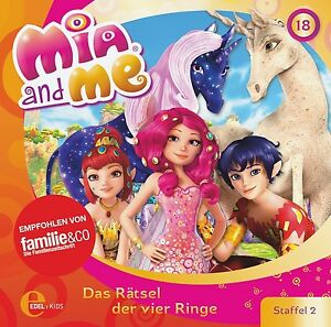 MIA-AND-ME-18-ORIGINAL-HORSPIEL-Z-TV-SERIE-CD-NEU
