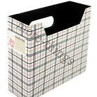 DIY Paper Board Storage Box Desk Decor Organizer Stationery MakeUp Cosmetic