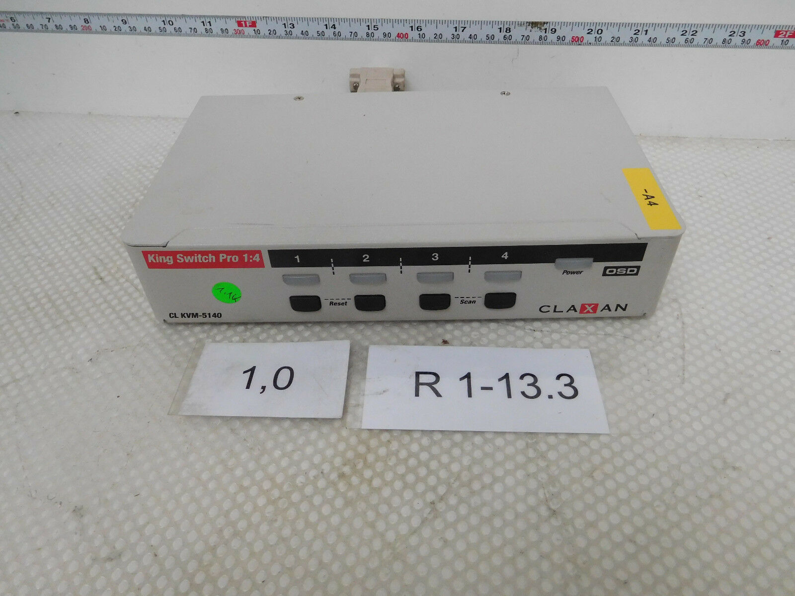 Claxan King Switch pro 1 4, Cl Kvm-5140