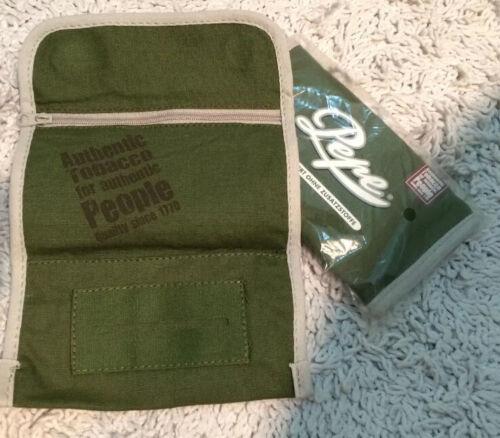 NEU OVP unbenutzt PEPE Tabaktasche Tabakbeutel Pouch-Tasche mit Blättchenfach