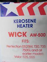 American Wick Kerosene Heater Wick Aw-500 Fits Many Perfection Models