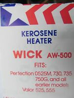 American Wick Kerosene Heater Wick Aw-500 Fits Many Perfection Models