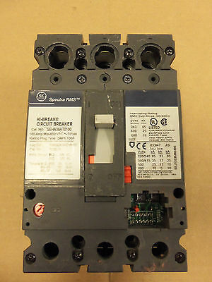 General Electric GE TED136Y150 Circuit Breaker 150A 3P 600V TED 150 Amp 3 Pole
