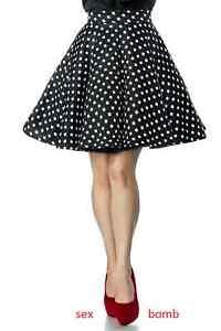 wholesale dealer 47e6a ffd31 Dettagli su SEXY gonna POIS a CERCHIO raffinata taglie XS S M L XL 2XL 3XL  fashion GLAMOUR !