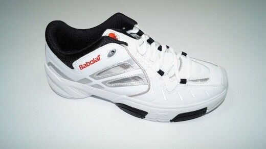 nouveau  Babolat Pure Indoor II Man Tennis chaussures EU 41 = UK 7,5 Hommes chaussures Hall US 8