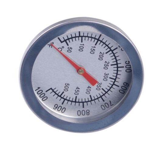 2 stücke 50-500oC BBQ Smoke Thermometer Grill Raucher