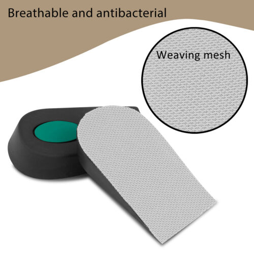 Details about  /Height Increase Insole Invisible Lift Heel Shoe Pads Taller Cushion Men Women US