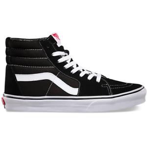 Vans-Unisex-Sk8-Hi-Sneakers-Black-White