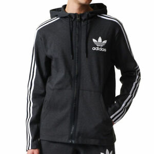 Adidas Zip New Curated Brand Tags Size Up Uk Hoody Grey Originals Medium rqEzw1r