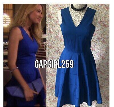 Königsblaues A-Linien-Kleid von Derek Lam – wie Serena Van Der Woodsen in Staffel 5