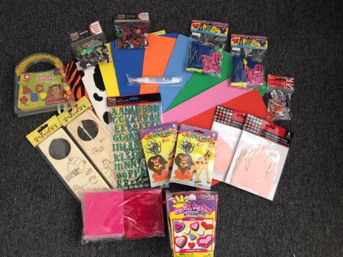 Kids Mega Crafting Bundle~KIDS CRAFT KIT~Bumper set **FREE P/&P**