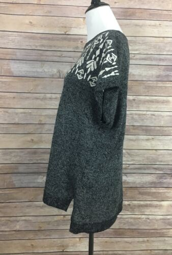 Pull tunique taille brodé Madewell S SW48rxSUqw