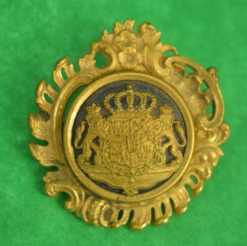 Royal Coat of Arms Brass Pin