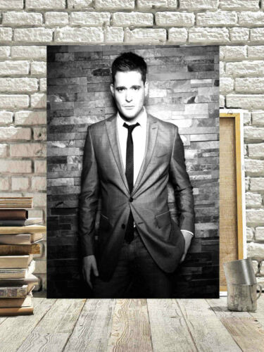 FANTASTIC MICHAEL BUBLE CANVAS #4 QUALITY MUSIC CANVAS PICTURE A1 A3 FREE P/&P