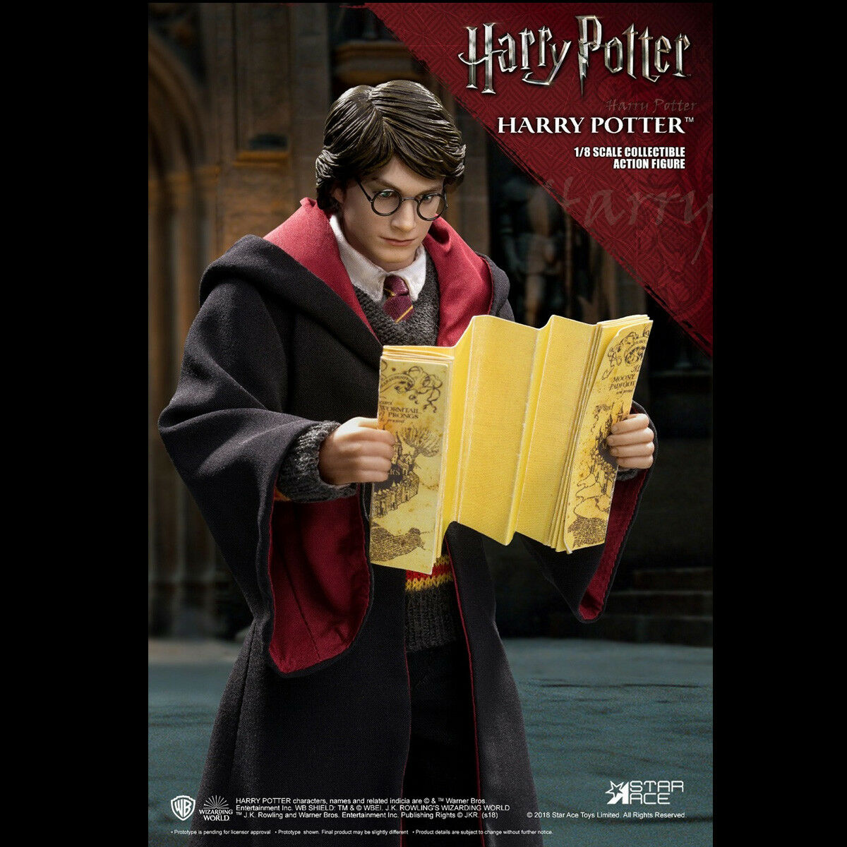 STAR ACE Toys 1/8 SA8011 A & B Harry Potter and Dobby Action Figure Collectible