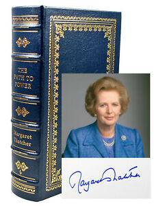 Easton-Press-Margaret-Thatcher-PATH-TO-POWER-Signed-Limited-Leather-Bound-81