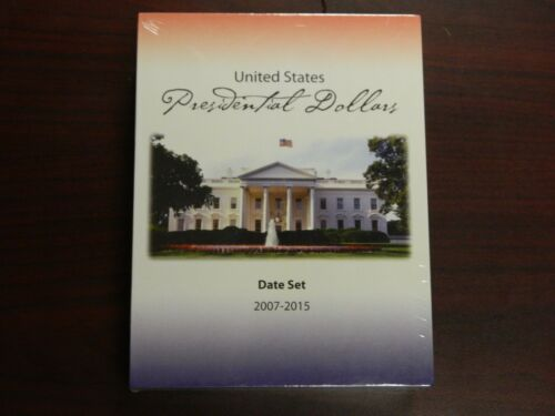 2007-2015 Great Folder United States Presidential Dollar Coin Album