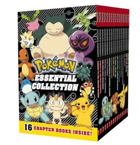 Pokemon-Essential-Collection-16-book-box-set-Manga-BRAND-NEW