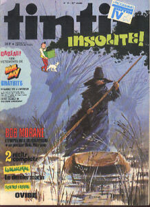 BOB-MORANE-Henri-VERNES-French-Magazine-TINTIN-1978