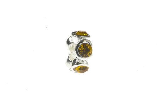 European bead Golden pedrería nuevo 10-99