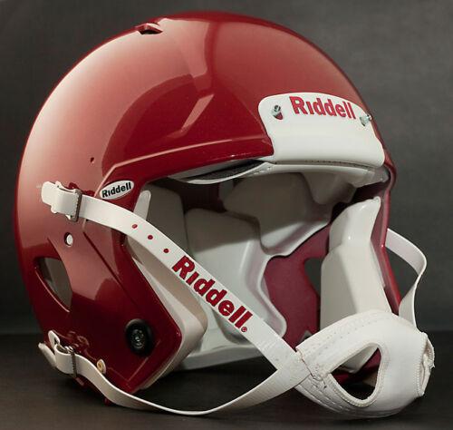 Color: METALLIC CARDINAL Riddell Revolution SPEED Classic Football Helmet