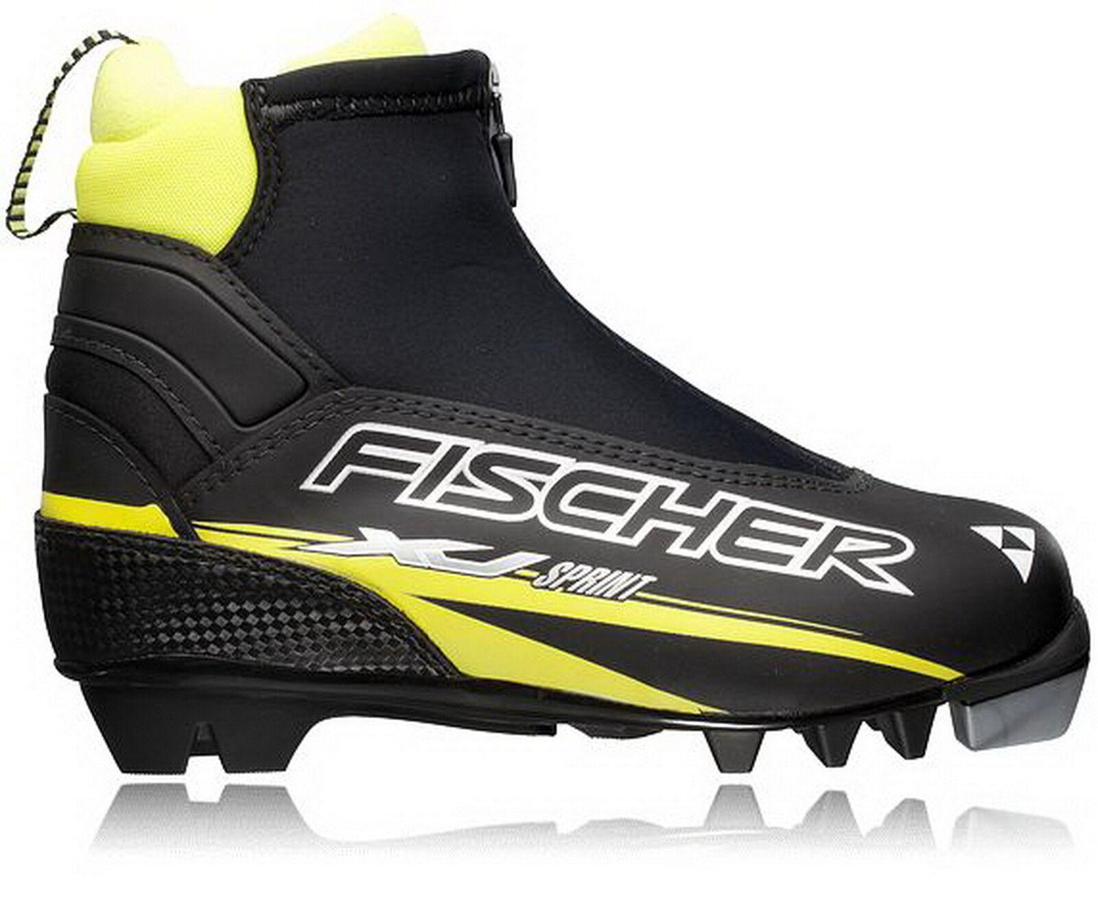 FISCHER Kinder Classic Langlaufshuhe XJ Sprint JR LL-Schuh Fischer NEU