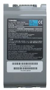 Toshiba-PA3364U-1BRS-Li-ION-Battery-Pack-Notebook-Akku-fuer-Tecra-9000-9100