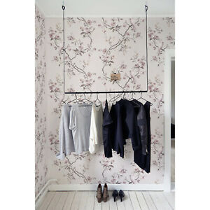 Chinoiserie-Removable-wallpaper-Peel-and-stick-wall-mural-Stylish-Floral-Wall