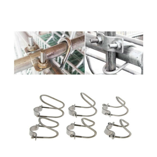90 Degree Pipe to Pipe Rota Lock Clamp Holder Zinc Plated Iron 304