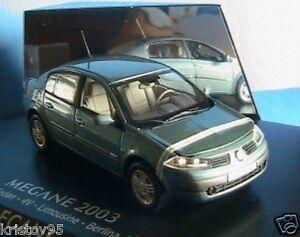 Renault Megane Ii Phase 1 1.9 Dci 2003 Vert Cuivre Norev 1/43 Die Cast Model