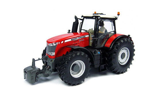 uh 4859-UNIVERSAL HOBBIES Massey Ferguson 8737 USA + Driver - 1 32
