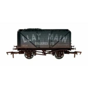 Dapol-4F-080-129-OO-Gauge-8-Plank-Wagon-Llay-Main-954-Weathered