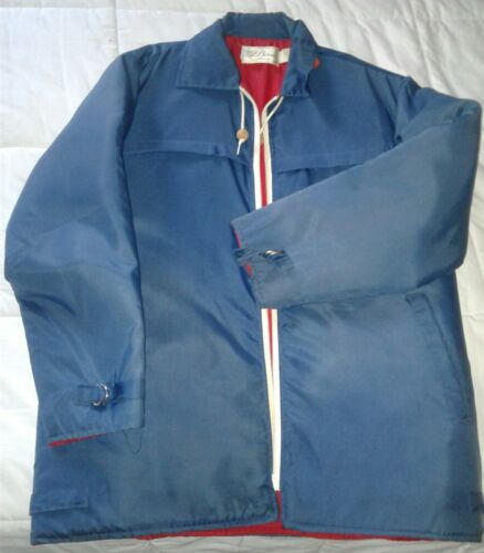 ll bean mens large flotation jacket life jacket 1974 euc