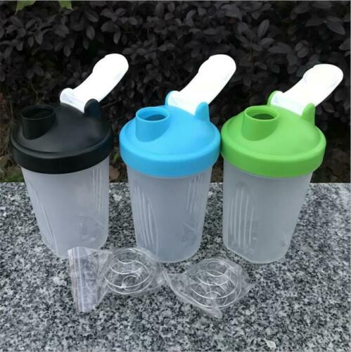 400ml protein shake cup direct drinking sports water bottle