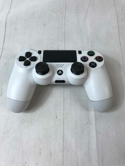 White Sony PlayStation 4 Dual Shock 4 Controller