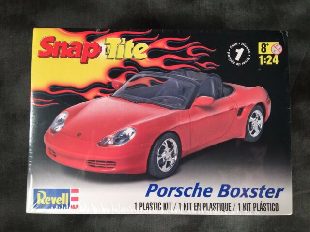 Revell Porsche Boxster Snap Tite Plastic 1 24 Scale Car Model Kit