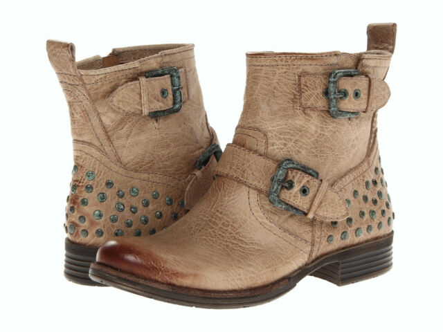NEW ANTHROPOLOGIE NAYA AGATHA TAUPE STUDDED MOTO Stiefel SZ  8    SZ  5511bb