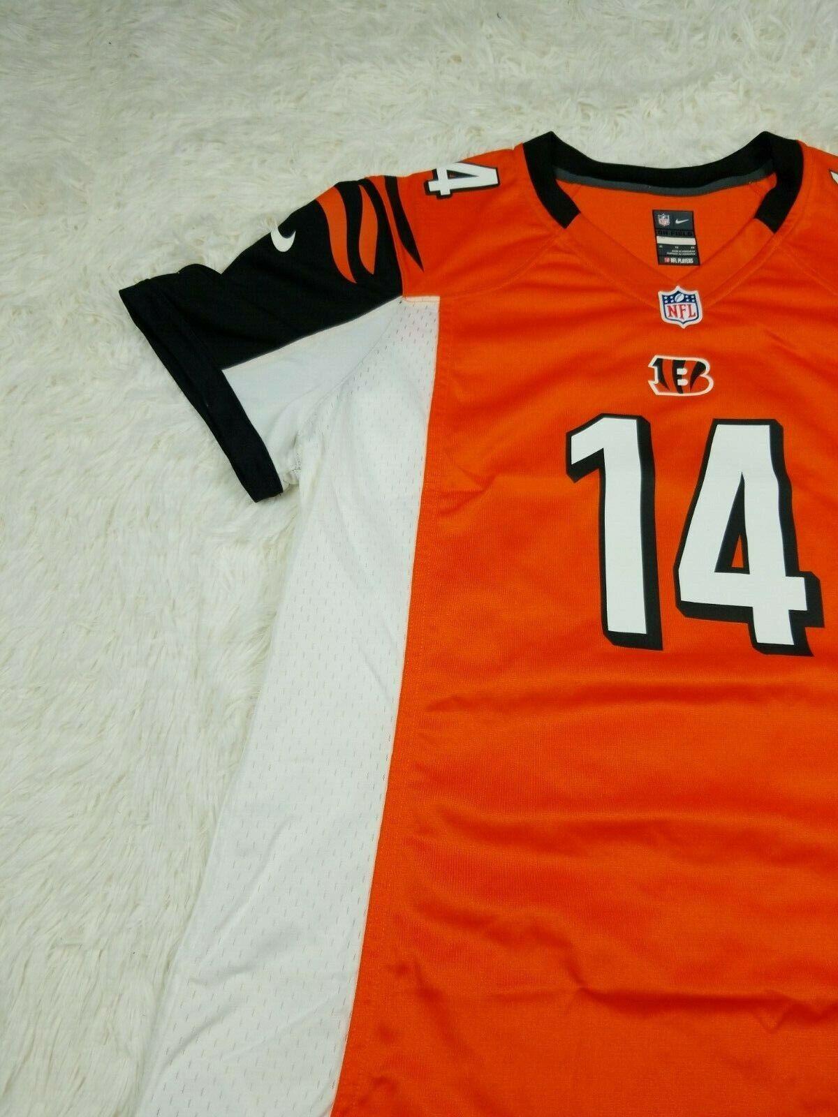 Andy Dalton Cincinnati Bengals Football Nike Replica Womens XL Jersey NFL