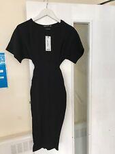 6cd693d45add item 4 Boohoo Petite Louise Tie Waist Formal Wiggle Midi Dress Size 4 NEW  Shift BLACK -Boohoo Petite Louise Tie Waist Formal Wiggle Midi Dress Size 4  NEW ...