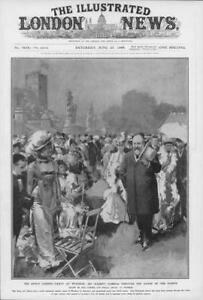 1908-Antique-Print-BERKSHIRE-Windsor-Kings-Garden-Party-Guests-Costumes-40