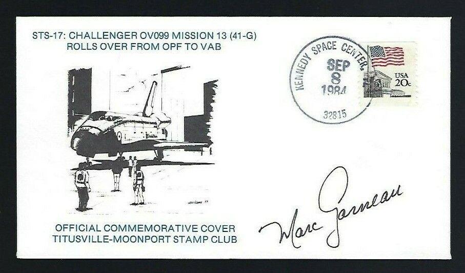 s l1600 - Marc Garneau signed cover Canadian Shuttle Astronaut