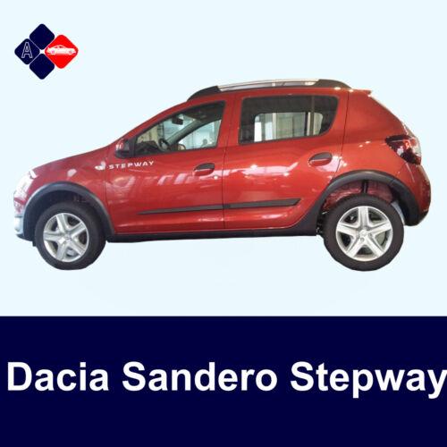 DACIA Sandero Stepway des bandes de frottementPorte ProtecteursKit de protection latérale
