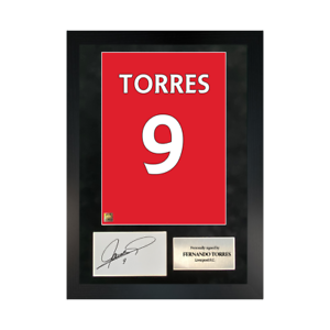 Authentic-signed-Framed-Fernando-Torres-Reds-in-Liverpool-shirt-Print