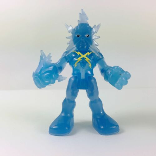 Playskool Marvel Super Hero Adventures BLUE ELECTRO figure Spider-Man villain